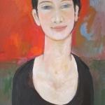 Gabriela, olej, 60X42 cm, 2015