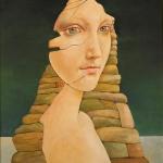 Requiem,olej,60x45cm,1996