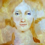 Skica, olej, 34x32 cm,2000