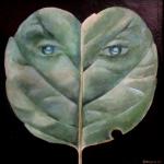 Lupínek,olej,25x24,2000