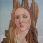 Zakletá Venuše,olej,60x46,1999