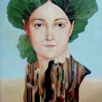 Pocta  Ingresovi Madame Devaucay,olej,85x53,2000