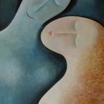 Souznění,olej,64x42,2008