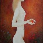Pokušení I.olej,64x40,2004