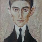 Franz Kafka,olej,35x25,2003