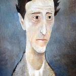 Jean Cocteau,olej,35X25,2004