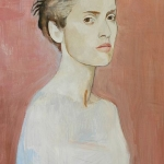 Salma Hayek I.,olej,64x42,2005