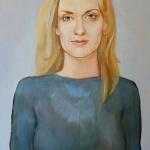 Magdaléna Kožená,olej,64x42,2005