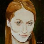 Streepová,olej,25x24,2005