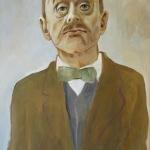 Thomas Mann,olej,64x42,2005