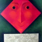 Vášnivá,olej,60x42,2009