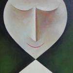 Stydlivá,olej,60x42,2009